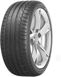 2x 245/50 R18 100W Dunlop Sport Maxx RT MO Sommerreifen NEU (Nr.19B)