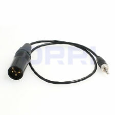3.5mm Locking TRS to XLR 3-Pin Cable for Sennheiser/Sony D11