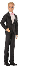 Barbie Fairytale Groom Doll, Includes Ken doll wearing fashions and accessories