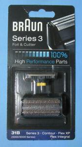 BRAUN - Series 3 / 31B Foil & Cutter- Contur / Flex XP / Flex Integral