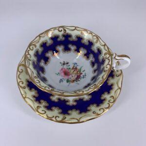 Graingers Worcester cup & saucer c.1840