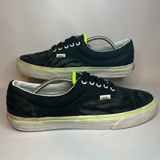 Vans Custom Design Men's Size 13 Black / Zebra Print Skate Shoes