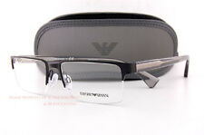 Brand New EMPORIO ARMANI Eyeglass Frames 1037 3113 Black Men Size 55