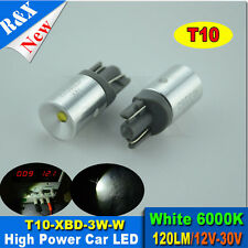 2 x 501 CREE XBD LED XENON SUPER WHITE BULB T10 W5W CAR TAIL PARKING SIDELIGHTS