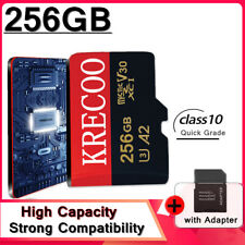 Memory Card 64GB 128GB 256GB Micro C10 Fast Flash TF for Camera&Phone&Computer