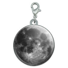 Full Moon Stainless Steel Pet Dog ID Tag