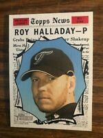 2010 Topps Heritage  Hi #495 Roy Halladay Toronto Blue Jays  SP AS  NrMt