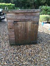 Large Wooden Dog House/Kennel - Used Item. Can Deliver Norfolk Area. Good/c