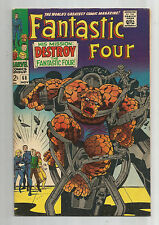 FANTASTIC FOUR (V1) #68: Silver Age Grade 8.0 With Classic Kirby Cover!!