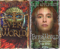 Complete Set Series - Lot of 12 Everworld Books by K.A. Applegate YA KA