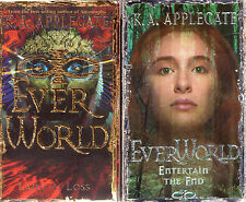 Complete Set Series - Lot of 12 Everworld Books by K.A. Applegate (Fantasy)