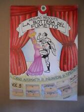La Bottega del Fumetto Corso autodidatta disegnatore fumetti #9 1985 [G854]