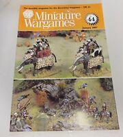 Miniature Wargames Number 44, January 1987 oop SC