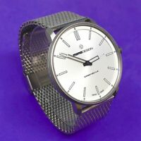 Reloj MomoDesign Men's Watch Essenziale SIlver Dial , Stainless Steel Mesh Band