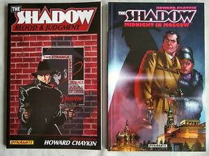 Chaykin Shadow TPB Set Blood and Judgment & Midnight in Moscow Unread!
