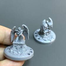 2 Grey Warrior wing Monster Game Figure Fit For Dungeons & Dragon D&D Miniatures