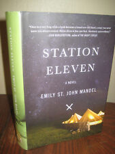 Station Eleven Emily St. John Mandel SIGNED 1st Edition First Printing Fiction