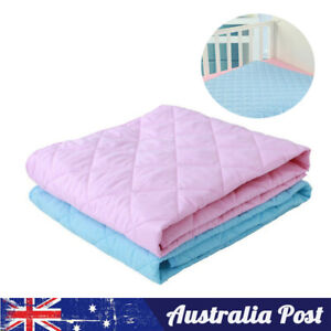 Nappy Urine Mat Diaper Waterproof Bedding Cover Change Pad Kids Baby Infant Soft