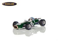Brabham BT19 Repco F1 GP Belgien 1967 Weltmeister Denny Hulme, Spark 1:43, S5254