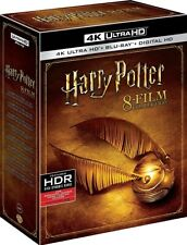 Harry Potter 8-Film Collection 4K Ultra HD Blu-ray/Blu-ray + Digital Copy - New!