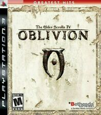 The Elder Scrolls IV: Oblivion (Sony PlayStation 3, 2007) Used,Free Shiping
