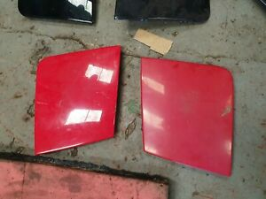 Mazda MX5 - Mk1 (NA) 89-98 - RED POP UP HEADLIGHT COVERS - PAIR - Eunos