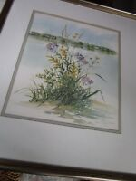 Nancy Ricker Rhett from Beaufort, SC. WILD FLOWERS NUMBERED AND PENCIL SIGNED