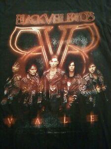 Black Veil Brides T Shirt Med Concert Band Nice Condition