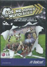 LOS MEJORES MUNDIALES VOL.2 NEW DVD