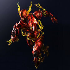 Play Arts Kai Variant DC Comics The Flash Action Figure Toy Doll Model Statue