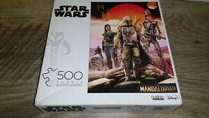 Star Wars The Mandalorian 500 Piece Puzzle Disney Bounty Hunting Cara Dune