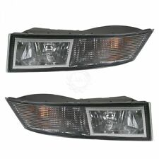 Fog Driving Lights Lamps Pair Set Kit Lh & Rh for 07-13 Cadillac Escalade Suv