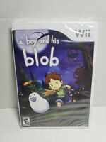 Nintendo Wii Game A Boy And His Blob Brand New Factory Sealed rare free shipping
