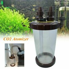 External Aquarium Co2 Diffuser Fish Tank Bubble Regulator Clear Atomizer Plant
