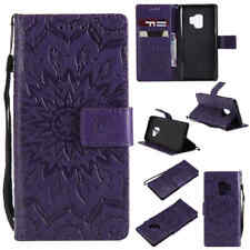 For Samsung Galaxy S9+ S8 S7 S6 Note 9 Card Wallet Stand Flip Leather Case Cover