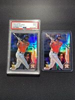 2020 Topps YORDAN ALVAREZ Rainbow Foil PSA 9 -Chrome Prizm- (9) Card Rookie Lot