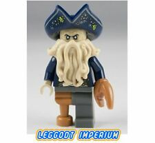 LEGO Minifigure - Davy Jones - Pirates of the Caribbean poc031 FREE POST