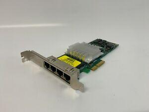 Intel PRO/1000 PT EXPI9404PTL 4-Port Gigabit PCIe x4 Server Network Card