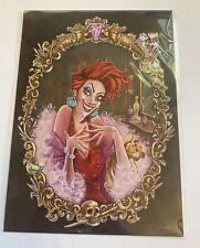 Disney Misfortune of Madame by John Coulter Postcard Wonderground Gallery New