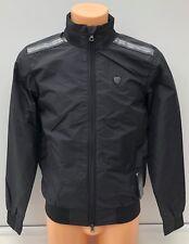 EMPORIO ARMANI EA7 Black Fleece Lined Bomber Jacket Coat Size XS BNWT