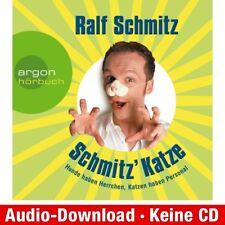 Hörbuch-Download (MP3) ★ Ralf Schmitz: Schmitz' Katze