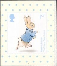 GB 2016 Beatrix Potter/Rabbit/Books/Animals/People/Tales 1v s/a ex bklt (b7810u)