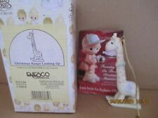 Precious Moments 1998 Ornament Christmas Keeps Looking Up 521124