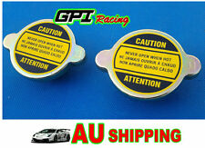 2 PCS UNIVERSAL GM HOLDEN RADIATOR CAP SUITS VN.VP,VR,VS,VT,VX,VY V6 MODEL