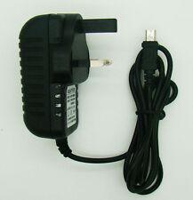 3 Pin UK plug 5V 2A Mini USB jack Charger Adapter Power Supply