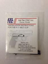 Kel-Tec P11 or P40 Belt Clip, Blue