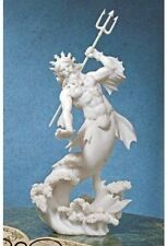 "11.25"" Inch Statue of Poseidon God of the Sea Greek Mythology Figurine Figure"
