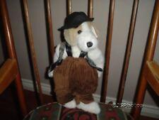 """Ganz Cottage Collectibles Kurtis Dog 14"""" CC1204 1996 ARTIST CATHERINE TREDGER"""