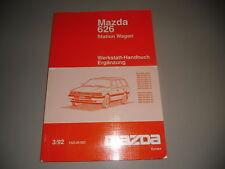 Werkstatthandbuch Mazda 626 Station Wagon Getriebe Karosserie Elektrik