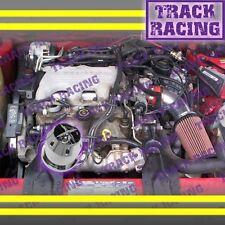 1994 1995/94 95 PONTIAC GRAND PRIX 3.1 3.1L V6 AIR INTAKE KIT+CHF Red